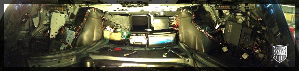 Panorama af Mercedes w221 baggagerum