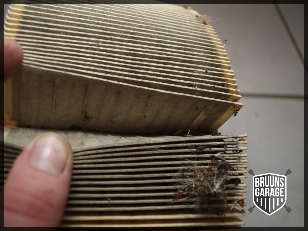 Tilstoppet Papirfilter