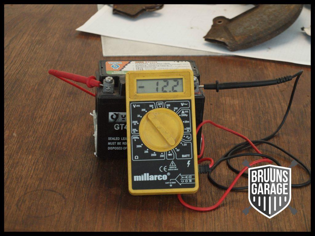 Måling af batteri