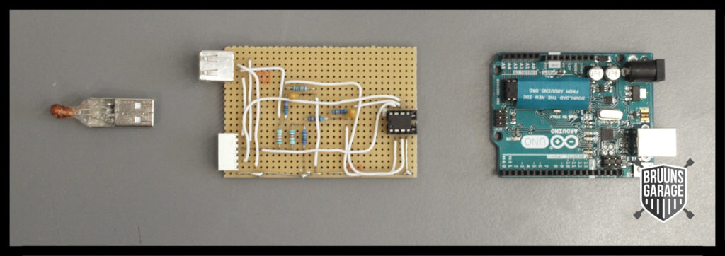 Komponenter til sensor