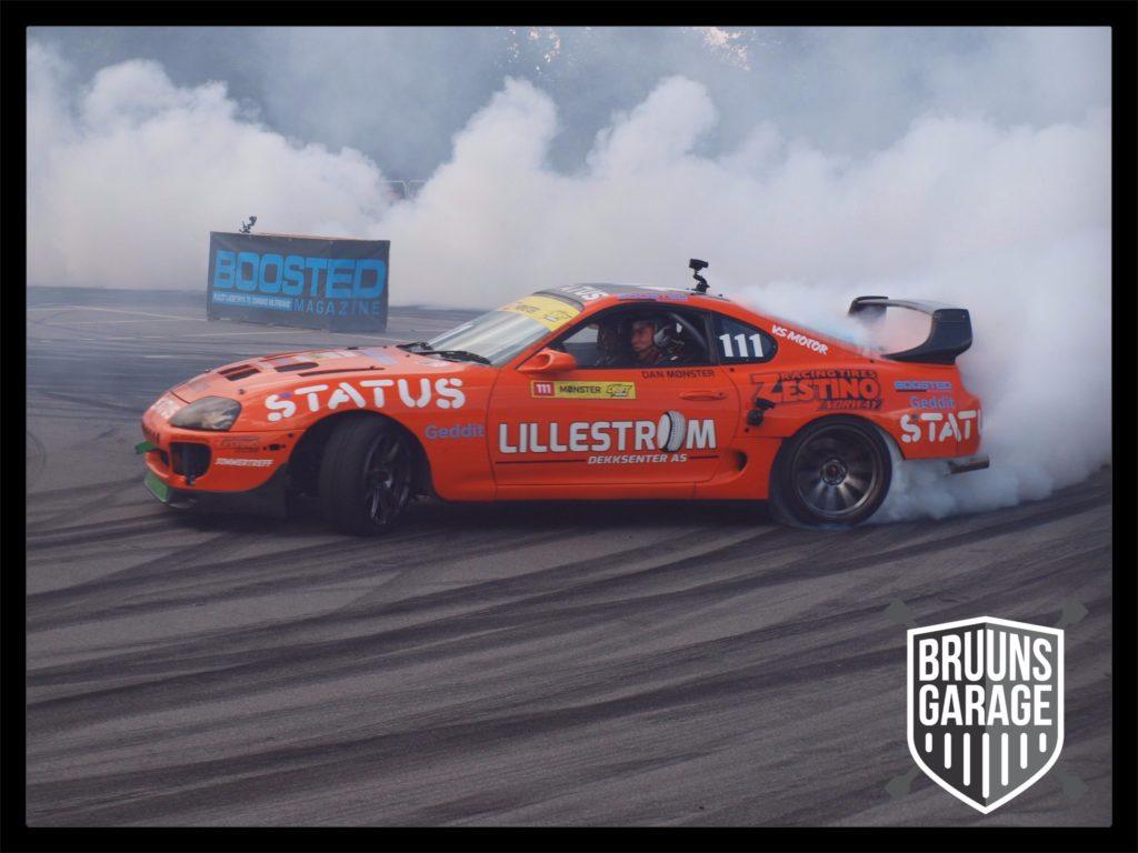 Supra Drift ved Auto Show Denmark 2017